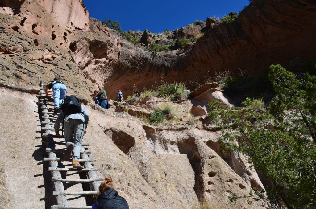 Alcove House Trail Bandelier National Monument Nomadic